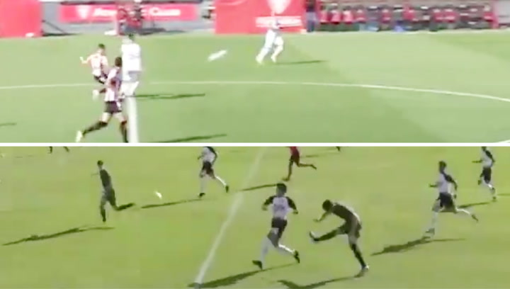 Los dos goles a lo Pelé de los que presume la cantera del Athletic