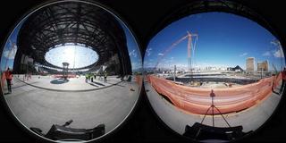 Allegiant Stadium 360 video