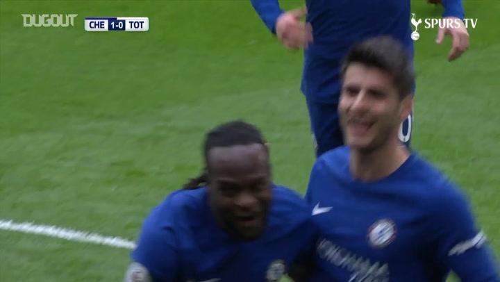 Gran gol de Christian Eriksen y doblete de Dele Alli en Stamford Bridge