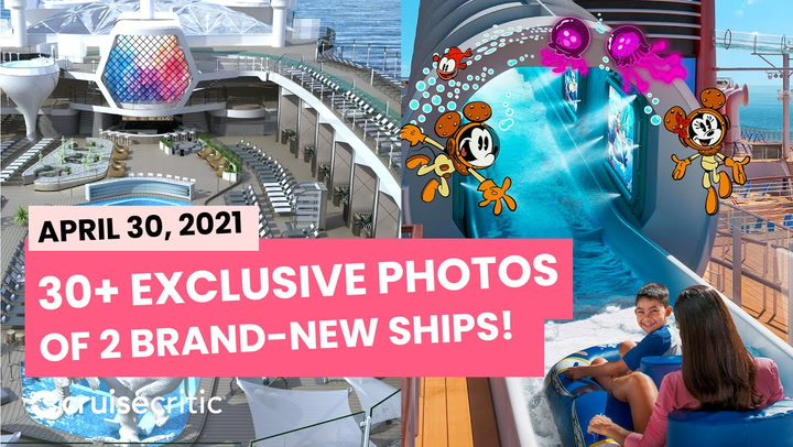 CRUISE NEWS: Two Brand-New Cruise Ships From Disney And Celebrity Revealed, See Photos! (VIDEO)