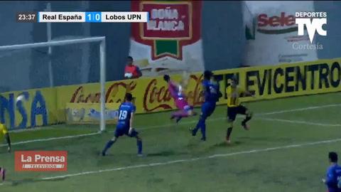 Real España 5-0 UPN (Liga Nacional de Honduras)