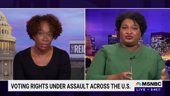 Stacey Abrams: Republicans 'Will Not Stop Men from Murdering Women of Color'
