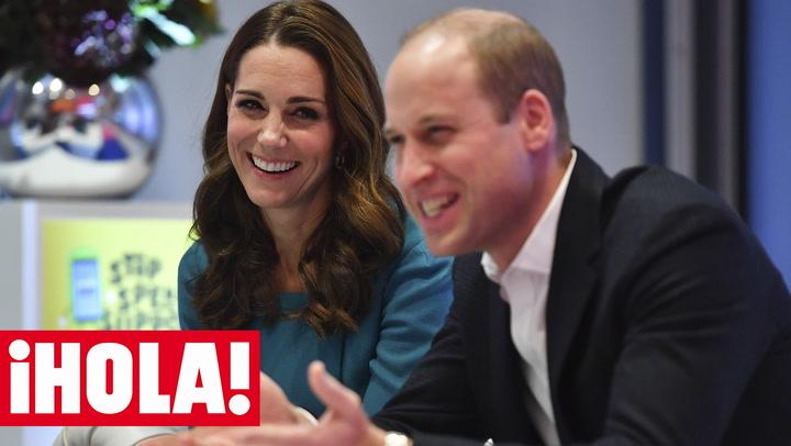 ¿Adivinas por qué se \'burla\' la Duquesa de Cambridge del príncipe Guillermo?