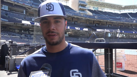 Joey Lucchesi discusses his first few weeks of life in the Bigs