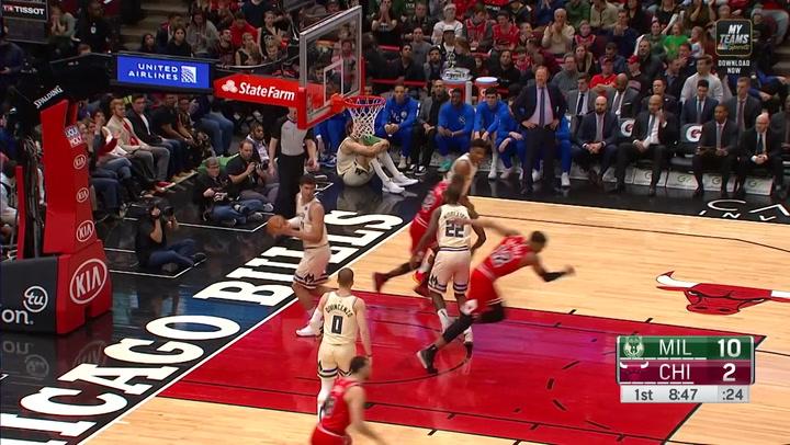 Las 5 mejores jugadas de la jornada de la NBA del 30 de diciembre 2019
