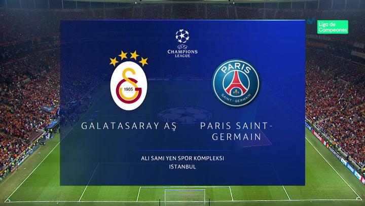 Champions League: Resumen y Goles del Partido Galatasaray - PSG