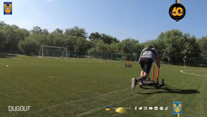 Highlights from Tigres' second week of training