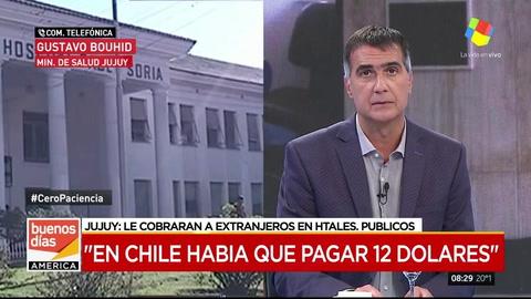 En Jujuy analizan cobrarles a los extranjeros que se atiendan en hospitales públicos