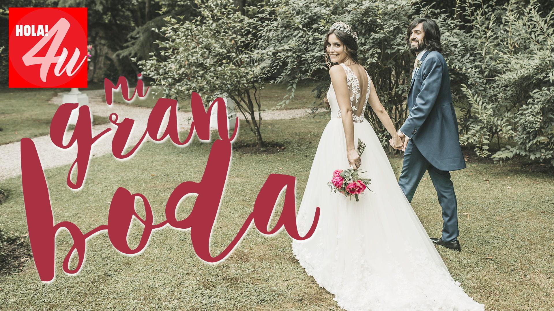 La boda de Paula Moya