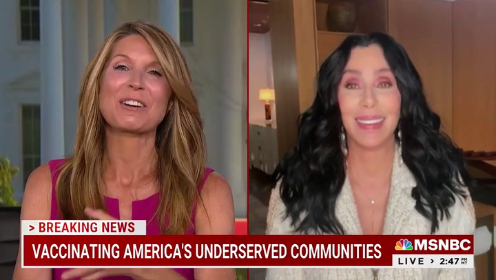 Cher: 'Every Time Trump Does Something' I Get 'Sick to Stomach,' 'I Get Angry'