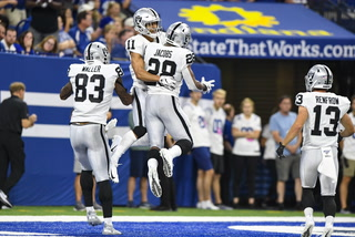 Gruden Proud of Raiders After Winning 31-24 in Indianapolis