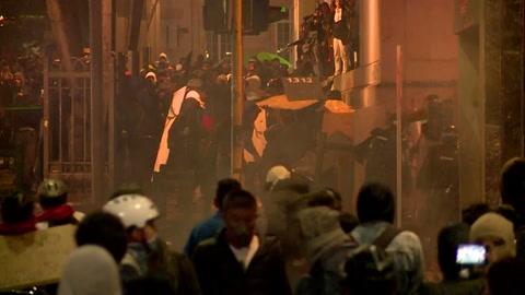 Se reactivan con fuerza protestas en Colombia en medio de choques con la policía