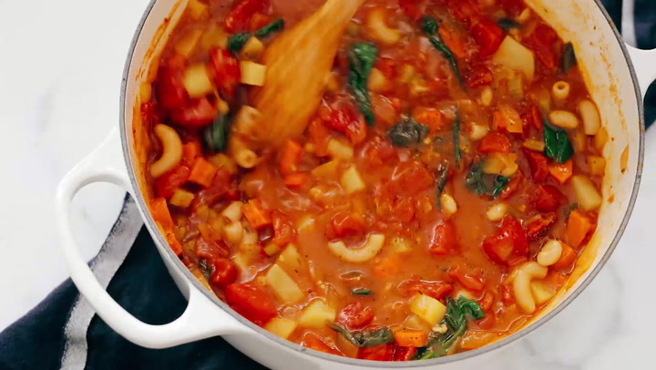 Classic Minestrone Soup Recipe Cookie And Kate