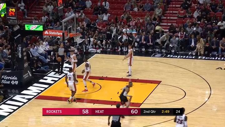 James Harden, el mejor jugador de la jornada de la NBA