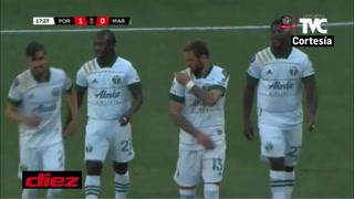 Portland Timbers y su primer gol a Marathón en la Champions de Concacaf
