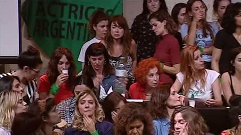 Actrices argentinas respaldan denuncia de violación