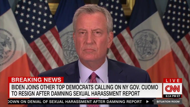De Blasio: Cuomo 'Should Face Criminal Charges' and Needs to 'Be Impeached As Quickly as Possible'