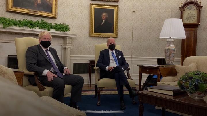 Joe Biden issues warning to UK over Northern Ireland protocol