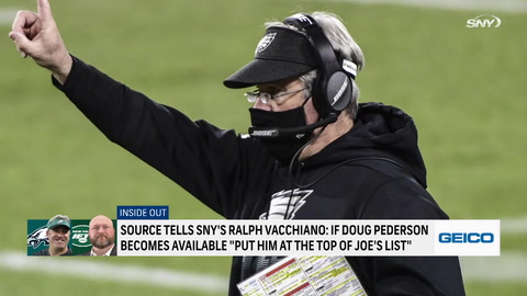 How high would Doug Pederson be on Jets' coaching list if Eagles let him go?