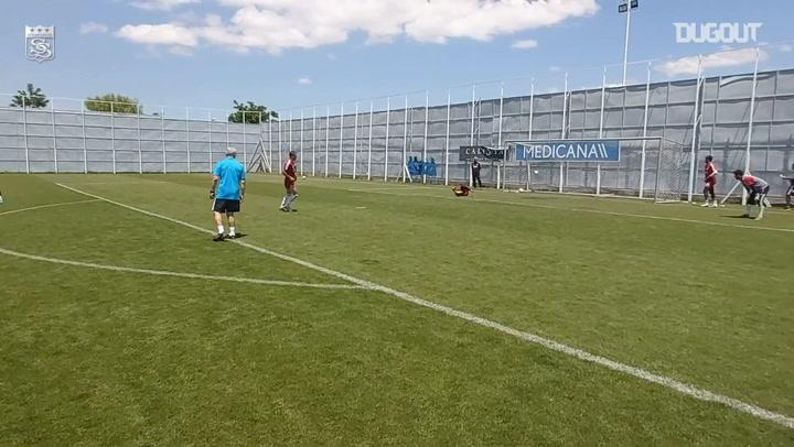Sivasspor'un Şut Çalışması