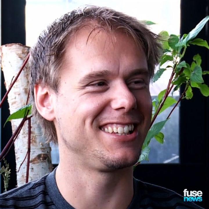 """Armin Van Buuren On Headlining MSG: """"It Makes Me Nervous"""""""