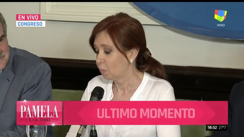 Cristina calificó de disparate su procesamiento