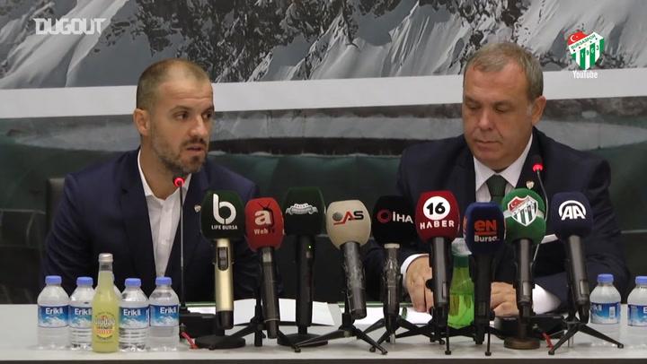 Bursaspor'un Yeni Teknik Direktörü Mustafa Er