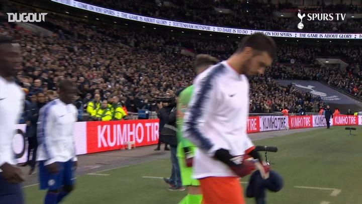 Spurs gain first leg advantage over Chelsea