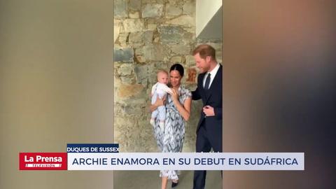 Archie enamora en su debut en Sudáfrica