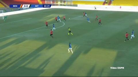 Benevento 2-5 Inter de Milán (Serie A)