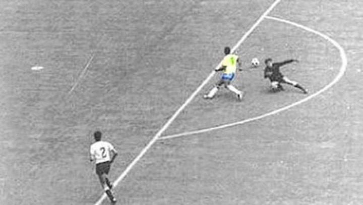 El gol que no fue de Pelé contra Uruguay en México'70