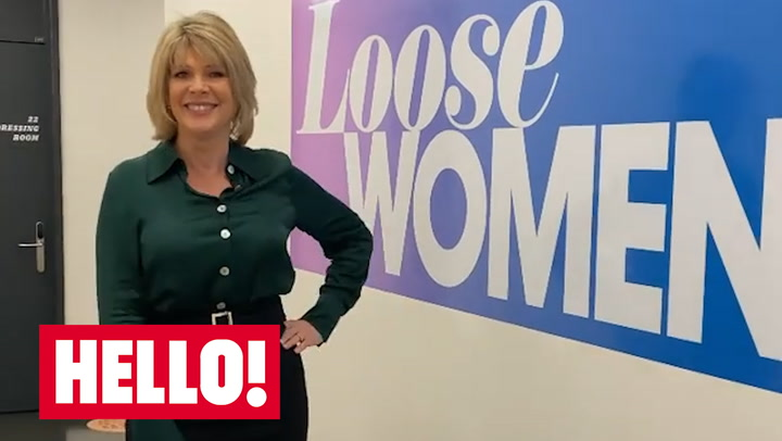 Ruth Langsford models her gorgeous green Loose Women outfit