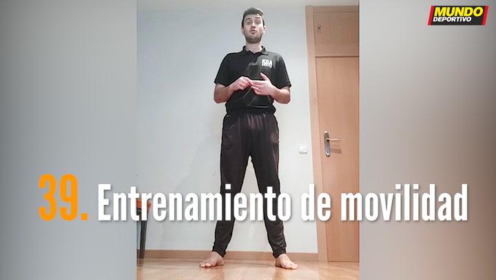 ENTRENA EN CASA (39): Entrenamiento de movilidad