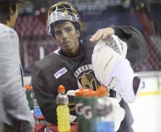 Golden Edge: Knights take the ice in Washington D.C.