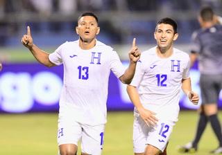 Brayan Moya anotó el 2-0 para Honduras sobre Trinidad & Tobago