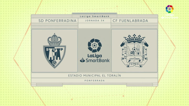 LaLiga SmartBank (J34): Resumen del Ponferradina 0-0 Fuenlabrada