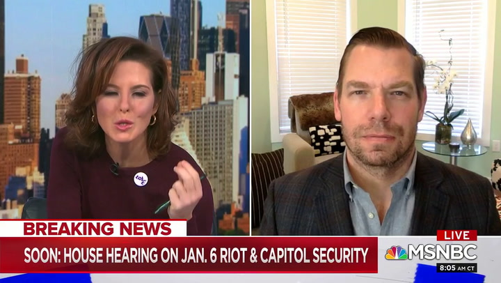 Swalwell: Hawley, Cruz 'Forfeited Their Right to Question Security' at the Capitol