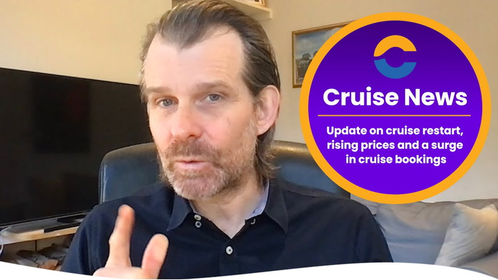 Cruise Restart, Rising Cruise Prices & The Vaccine's Impact On Bookings (Video)