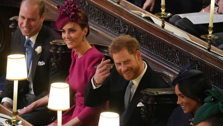 Prince William, Kate Middleton, Prince Harry and Meghan Markle\'s best moments together