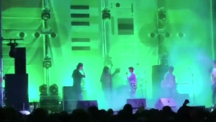 Amaia Romero confiesa estar borracha en medio de un concierto
