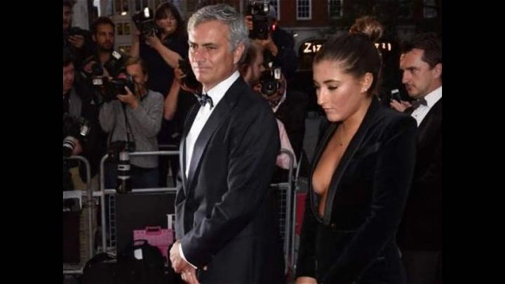 Matilde Mourinho deslumbró en una entrega de premios