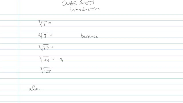Cube Roots - Problem 2