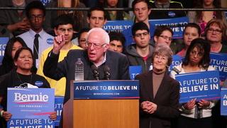 2016 presidential candidate Bernie Sanders visits Duluth