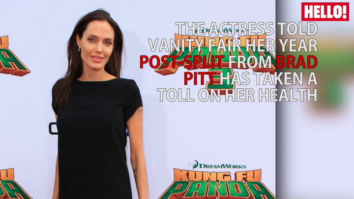 Angelina Jolie reveals she has suffered from Bell\'s Palsy