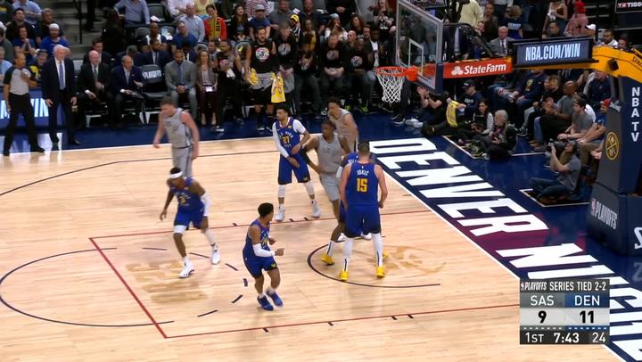 Las 10 mejores jugadas de la jornada de la NBA el 24 de abril de 2019
