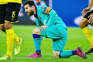 Lionel Messi vuelve a jugar con el Barcelona 43 días después