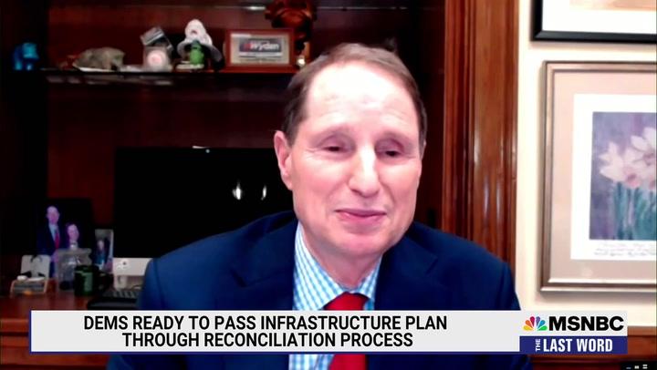 Senate Finance Chair Wyden: I Think We'll Pass Infrastructure Through Reconciliation