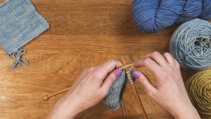 Watch Now: How to Knit Two Together
