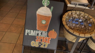 Starbucks brings back Pumpkin Spice early