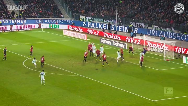 David Alaba'nın Bayern Forması İle En İyi Golleri